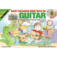 Progressive Guitar Method 1 for Young Beginners Colouring Book/CD/DVD