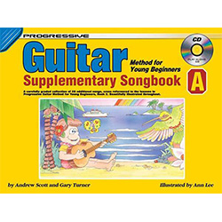 Progressive Guitar Method for Young Beginners Supplementary Songbook A Book/CD