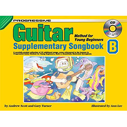 Progressive Guitar Method for Young Beginners Supplementary Songbook B Book/CD