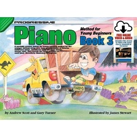 Progressive Piano Book 3 for Young Beginners Book/Online Video & Audio