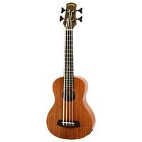 Leolani Acoustic/Electric Uke Bass with Gigbag