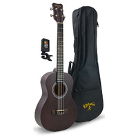 Kohala Baritone Player's Pack with Ukulele, Bag and Tuner in Natural Satin Finish