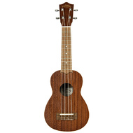 Lanikai Mahogany Series Soprano Ukulele in Natural Satin Finish
