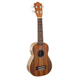 Lanikai Curly Koa Series Soprano Ukulele in Natural Finish