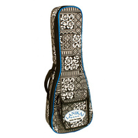 Lanikai Baritone Tribal Ukulele Gig Bag with Large Front Storage Pocket
