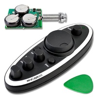 "Mi-Si ""Cutless"" Wireless Battery-free Preamp System for Acoustic Guitar"