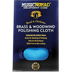 Music Nomad Brass & Woodwind Untreated Polishing Cloth