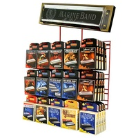 Hohner #60 Harmonica Wall Mount Display Stand