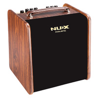NU-X AC50 Stageman 2-Channel, 50W Acoustic Guitar Amplifier with Digital FX