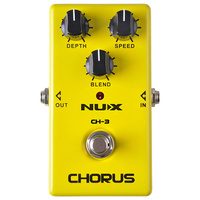 NU-X Analog Series CH-3 Vintage Chorus Effects Pedal