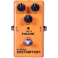 NU-X Analog Series DS-3 Classic Distortion Effects Pedal