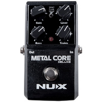 NU-X Core Stompbox Series Metal Core Deluxe Distortion Effects Pedal