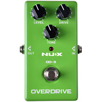 NU-X Analog Series OD-3 Vintage Overdrive Effects Pedal