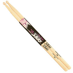 On Stage American Hickory Wood with Wood Tip 5B Drum Sticks