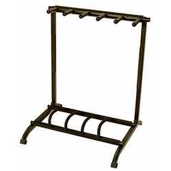 On Stage Five Space Foldable Multi Guitar Stand/Rack
