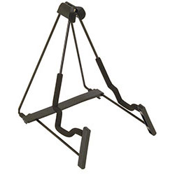 On Stage Fold Flat Metal A-Frame Guitar Stand