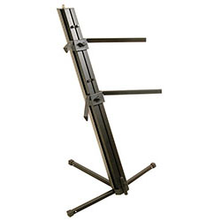 On Stage Quantum Core Column Style 2-Tier Keyboard Stand