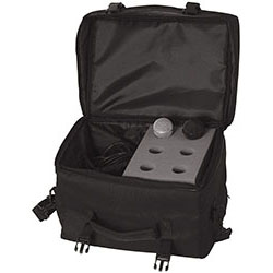 On Stage 6-Space Microphone Bag with Cable Compartment