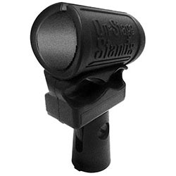 On Stage Shock-Mounted Mic Clip for 25mm Dynamic Mics