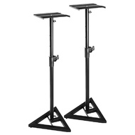 On Stage Pair of Near-Field Studio Monitor Stands