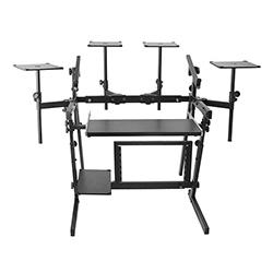On Stage Professional Studio Workstation in Black
