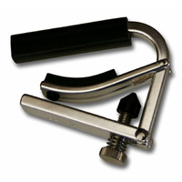 Shubb Lite Ukulele Capo in Nickel Finish