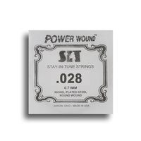 SIT Power Wound Nickel Electric Guitar Single String (028)