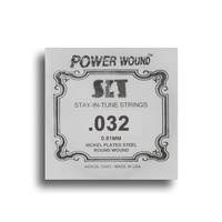 SIT Power Wound Nickel Electric Guitar Single String (032)