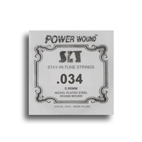 SIT Power Wound Nickel Electric Guitar Single String (034)