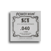 SIT Power Wound Nickel Electric Guitar Single String (040)