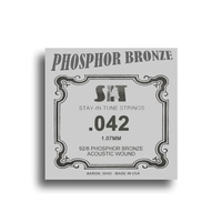SIT Phosphor Bronze Wound Acoustic Guitar Single String (042)