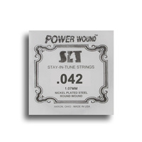 SIT Power Wound Nickel Electric Guitar Single String (042)