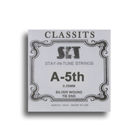 SIT Classits Silver Wound Classical Guitar Single String (A-5th)