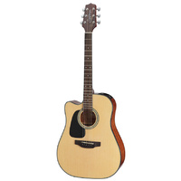 Takamine D2 Series Left Handed Dreadnought AC/EL Guitar with Cutaway