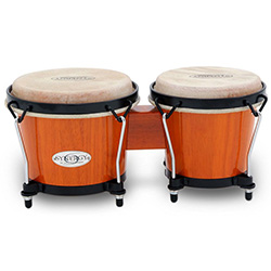 "Toca 6 & 6-3/4"" Synergy Series Wooden Bongos in Amber"