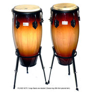 "Toca 11 & 11""-3/4"" Players Series Wooden Conga Set in Sunburst"