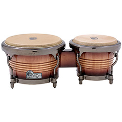 "Toca Signature Series 7 & 9"" Eric Velez Wooden Bongos in Sunburst"