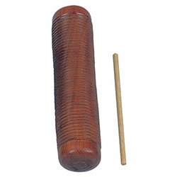 Toca Wood Guiro Shaker Hand Percussion Sound Effect