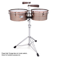 "Toca Pro Line Series Timbale Set 14 & 15"" in Black Copper"