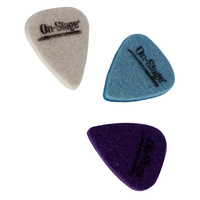 On Stage Multi-Colour Felt Picks Pk-3