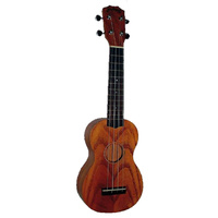 Kealoha YH-Series Soprano Ukulele with Swamp Ash Top in Natural Matt Finish