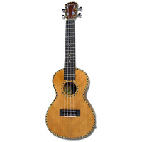 Kealoha YH-Series Soprano Ukulele with Solid Mahogany Top in Natural Matt Finish