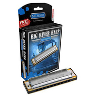 Hohner MS Series Big River Harmonica in the Key of Bb