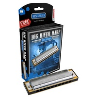 Hohner MS Series Big River Harmonica in the Key of C