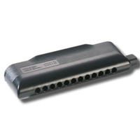 Hohner CX12 Chromatic Harmonica Black in the Key of E