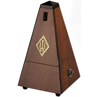 Wittner System Maelzel Series 810 Metronome in High Gloss Genuine Walnut