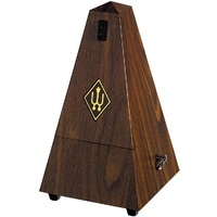 Wittner System Maelzel Series 855 Metronome in Walnut Grain Colour