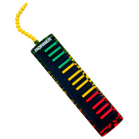 Hohner Airboard 32-Key Melodica in Rasta Design