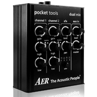 "AER ""Dual Mix"" Pocket Tool Two Channel Preamp with Effects"