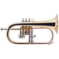 J.Michael FG500 Flugel Horn (Bb) in Clear Lacquer Finish
